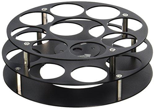 Labconco 7548800 PTFE-Coated Aluminum Vials Fixed-Angle Rotor, Holds 8 x 25ml Vials, 20mm Dia. x 73mm Tall