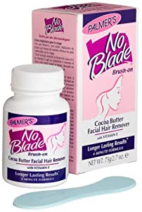 Palmer's No Blade, Cocoa Butter Facial Hair Remover (Brush-on), 2.7 Ounce Package