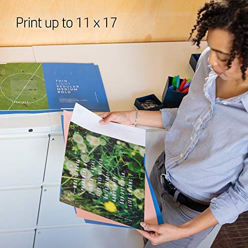 HP OfficeJet Wide Format All-in-One with & Mobile Printing, Instant & Amazon Dash ready