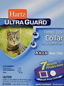 9. Hartz Ultraguard Flea & Tick Collar for Cats and Kittens