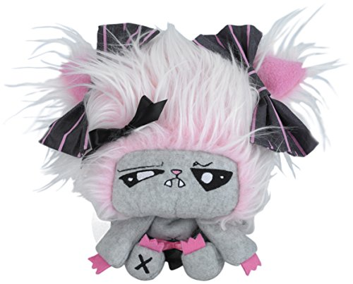 """Vamplets - Werewolf Baby Girl - 9"""" Tall Designer Toy Plush Doll – Great Gift For Monster High Fans - Her name is Feraline – Lives in Nightmare Nursery of - Wolf High Monster Dolls Family"""