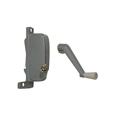 Prime-Line Products H 3666 Awning Window Operator, Right Hand, Aluminum Finish, Miami - Window Latches - .com