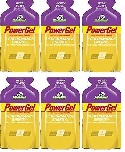 PowerBar PowerGel Berry Blast 6-Pack of 1.44-oz Packets