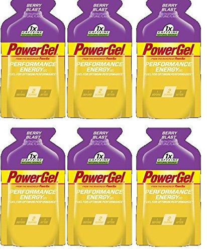 PowerBar PowerGel Berry Blast 6-Pack of 1.44-oz Packets