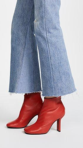 Jeffrey Campbell Kvinna Lyda Boots Röd