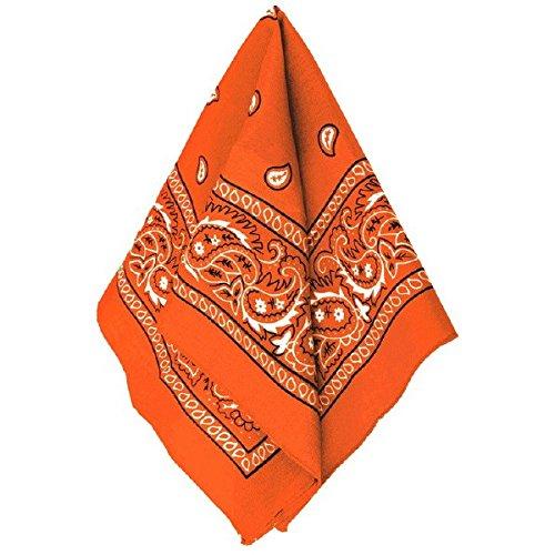 Amscan Bandana, Party Accessory, Orange