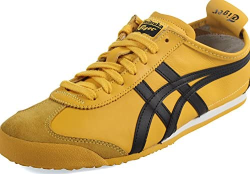 onitsuka tiger mexico 66 yellow black womens trainers price