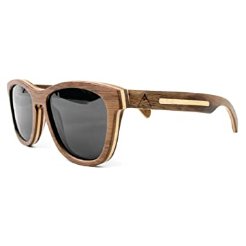 dewerstone – Cumbre de madera gafas de sol – polarizadas lente