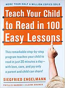 Amazon com: Teach Your Child to Read in 100 Easy Lessons