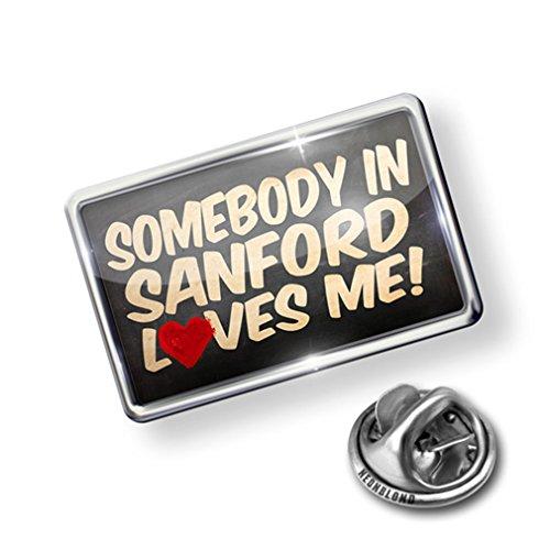 Pin Somebody in Sanford Loves me, Florida - Lapel Badge - ()