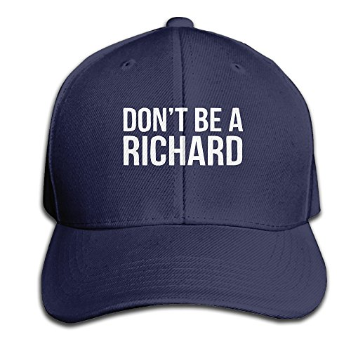 clon-mens-fashion-dont-be-a-richard-funny-saying-cap-snapback-hats