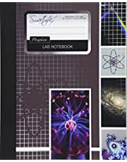 Lab Notebook: Physics Laboratory Notebook for Science Student / Research / College [ 101 pages * Perfect Bound * 8 x 10 inch ]