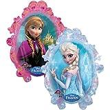 """Anagram International 2816201 Disney Fr ozen Shape Balloon Pack, 31"""""""