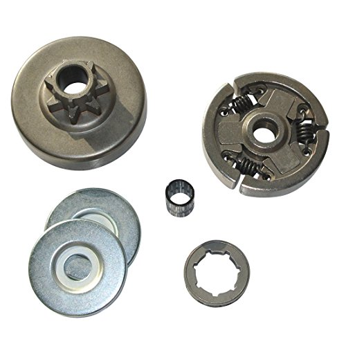 Roller Clutch Bearings - JRL Clutch Assembly W/ Sprocket Double Needle Roller Bearing For STIHL MS380 MS381