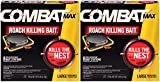 Combat 023400519132 Max Killing Large Roaches, 8 Bait Stations (Pack