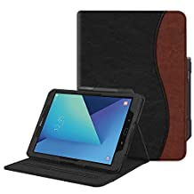 Fintie Case for Samsung Galaxy Tab S3 9.7, [Corner Protection] Multi-Angle Viewing Stand Cover Packet with S Pen Protective Holder Auto Sleep/Wake for Tab S3 9.7(SM-T820/T825/T827), Dual Color