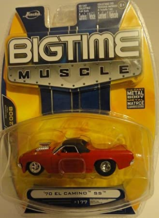 Jada Dub City Big Time Muscle Red 1970 El Camino SS 1:64 Scale Die ...