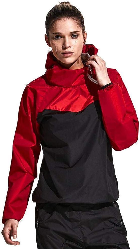 Full Body Shaper Sport Sweat Neoprene Suit,Waist Trainer Bodysuit with Sleeves for Weight Loss for Women