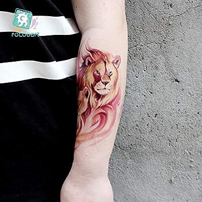 HXMAN 5uns Nueva Llegada Gran Brazo Tatuaje Diseños Con Tigre ...