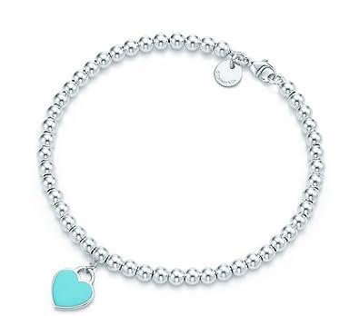 Amazon tiffany co blue heart pendant bracelet 26659604 16 tiffany co blue heart pendant bracelet 26659604 aloadofball Images