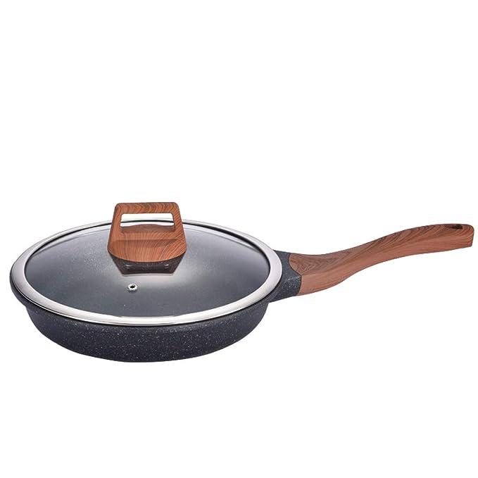 Estufa de gas antiadherente de la cocina de inducción del hogar del sartén de Maifanshi para el pote de la crepe del filete: Amazon.es: Hogar