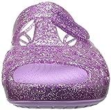 Crocs Kids' Girls Isabella Glitter Jelly Flat | Pre School