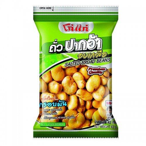 6 X Koh-Kae Nori Seaweed Nuts Size 50 g (Fresh Nuts Kola)