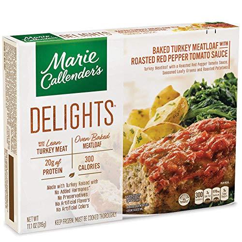 Marie Callenders Delights Frozen Dinner Baked Turkey Meat Loaf