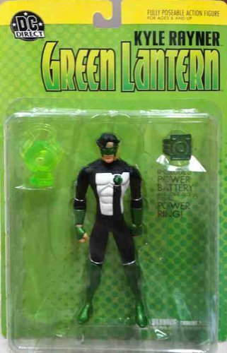 Green Lantern Kyle Rayner Action Figure by DC Direct (2003) by DC Comics