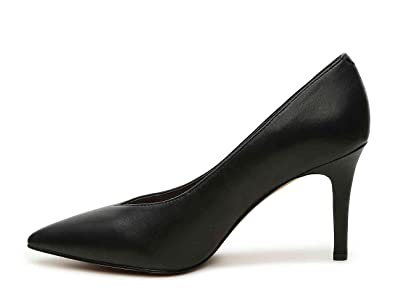Vince Camuto Womens Bomiena Leather Pointed Toe Classic Pumps Black Size 7.0
