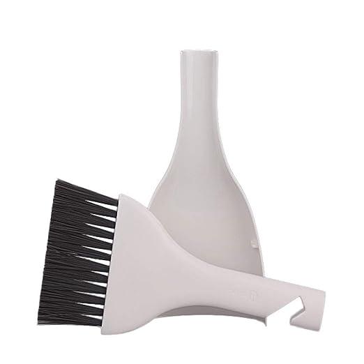 Abnaok Small Portable Plastic Handle Nylon Anti Static Brushes Computer Keyboard Cleaning Brush Kit