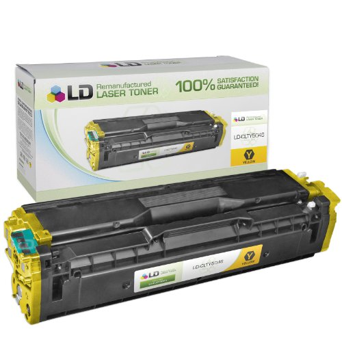LD © Remanufactured Replacement for Samsung CLT-Y504S Yellow Laser Toner Cartridge