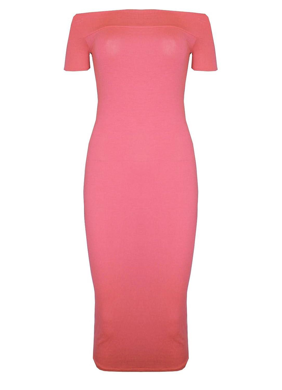Pure Fashion Damen Kleid körperbetont Mehrfarbig