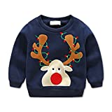 Product review for Beide Boys Girls Christmas Sweater Fleece Crewneck Pullover Sweatershirt