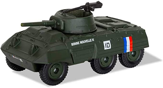 Corgi Diecast M8 Greyhound Camión Blindado De La Segunda Guerra Mundial Leyendas Militares En Miniatura Ajuste La Caja Báscula Cs90640 Toys Games