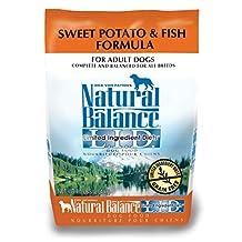 Dick Van Patten's Natural Balance Lid Sweet Potato and Fish Dry Dog Food, 4.5-Pound Bag
