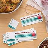 Avery Blank Printable Tickets, Tear-Away