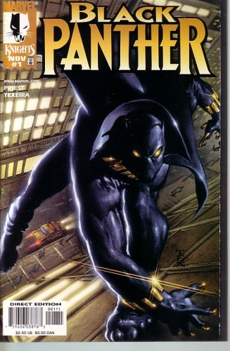 with Black Panther Comic Books design