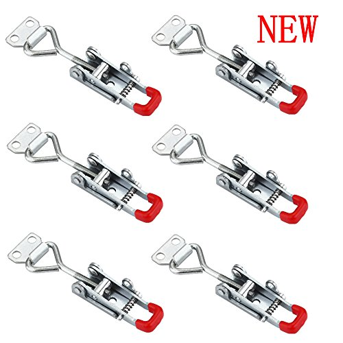 Anndason The Latest Adjustable Self-locking Buckle Toggle Latch Clamp 4012 (6PCS) (Style 4012) ()