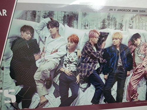 Price comparison product image BTS Bangtan Boys 2017 / 2018 Calendar includes Sticker