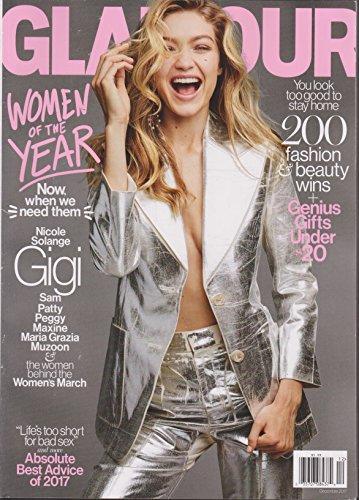 (Glamour Magazine December 2017)