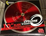 10' Diamax Cyclone Dry/Wet Turbo Porcelain Tile Blade