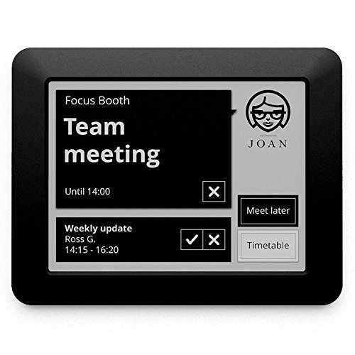 - JOAN Manager Wireless Conference Room Scheduler, Black