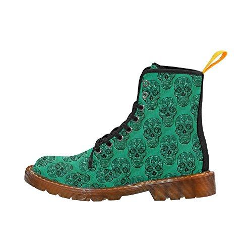 LEINTEREST Skull Martin Boots Fashion Shoes For Men Ra9hB6PB