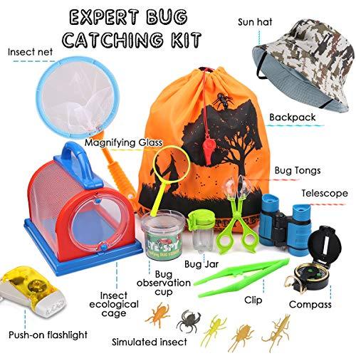 outdoor explorer kit bug catcher kit with binoculars
