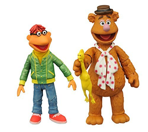 The Muppets SEP158428 Fozzie and Scooter Action Figure (Multi-Pack) by Muppets by Muppets