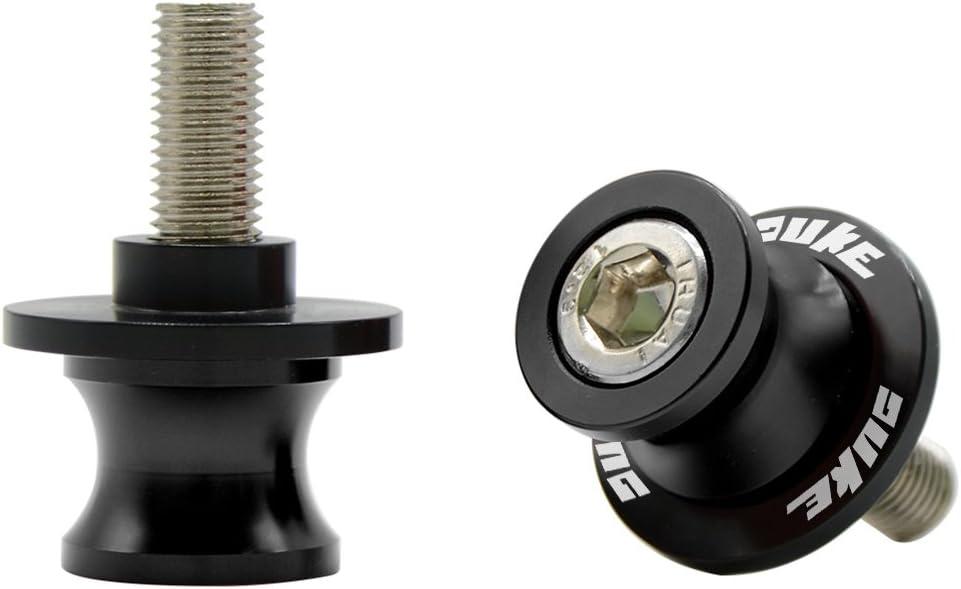 Twall Black 10MM CNC Swingarm Spools For KTM Duke 390 2013-2017