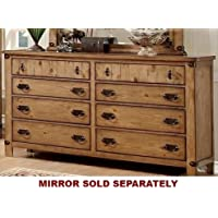 247SHOPATHOME Idf-7449D, dresser, Weathered Elm
