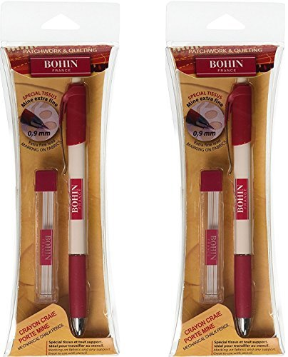 Bohin Extra-Fine Chalk Pencil (2 Pack)