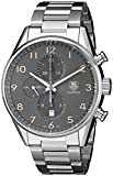 TAG Heuer Men's CAR2013.BA0799 Analog Display Automatic Self Wind Silver Watch